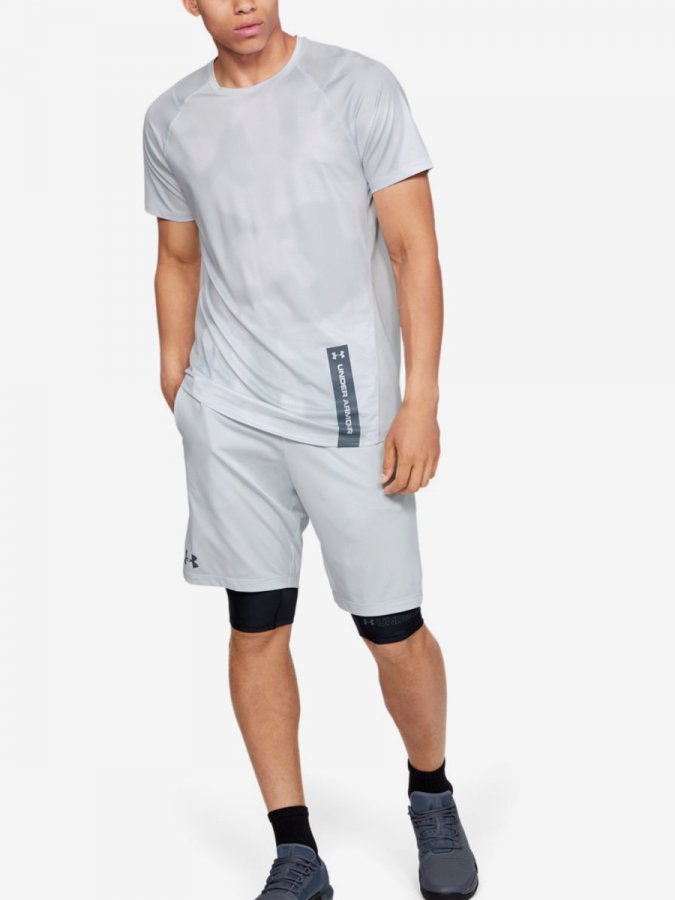 Kraťasy Under Armour Mk1 Short Wordmark-Gry (5)