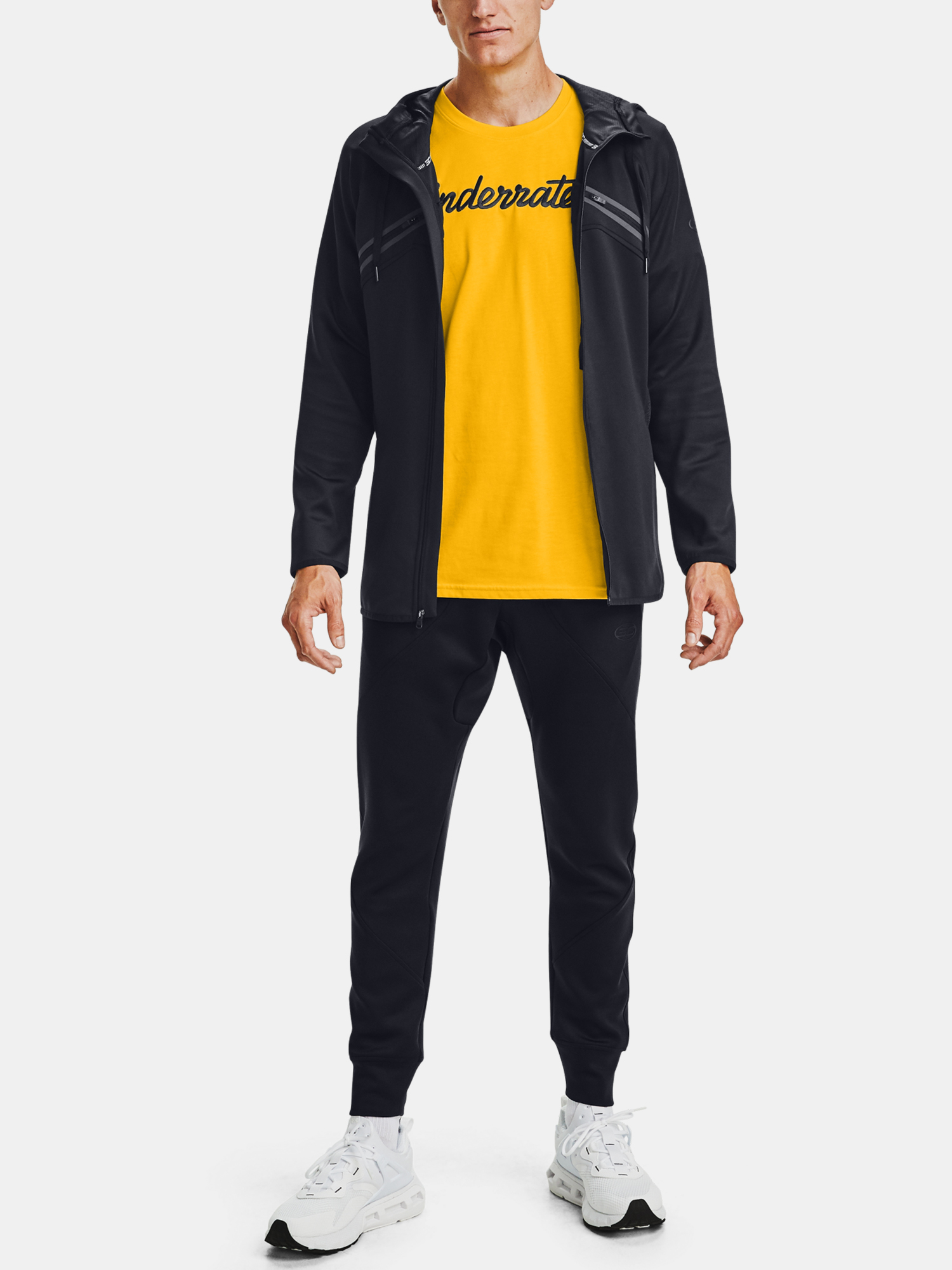 Tričko Under Armour CURRY EMBROIDERED TEE-YLW (6)