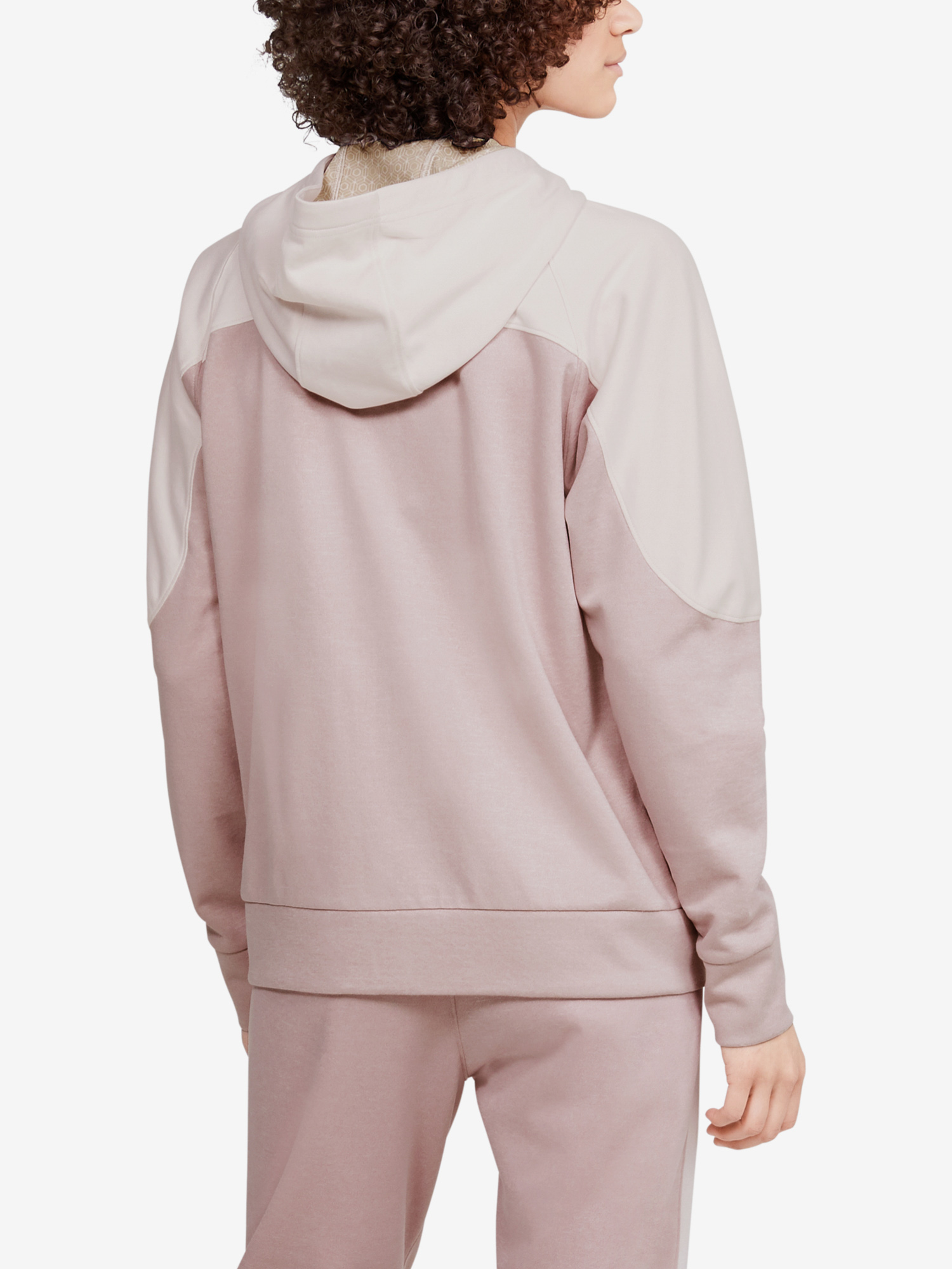 Mikina Under Armour Recover Knit FZ Hoodie-PNK (2)