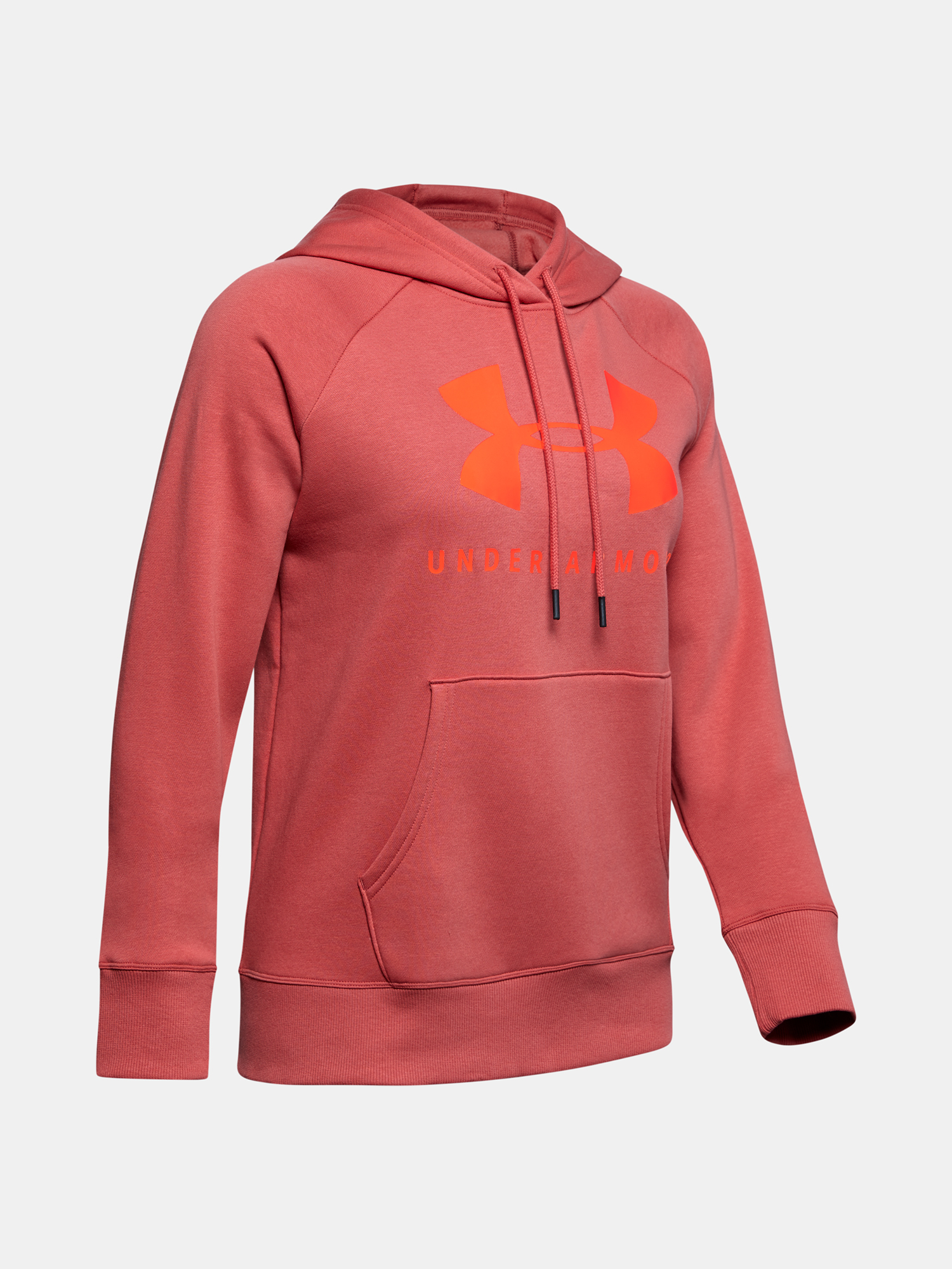 Mikina Under Armour Rival Fleece Sportstyle Graphic Hoodie-P (3)