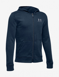 Mikina Under Armour Cotton Fleece Full Zip-Nvy