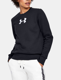 Mikina Under Armour ORIGINATORS FLEECE CREW LOGO-BLK