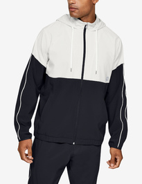 Mikina Under Armour Athlete Recovery Woven Warm Up Top