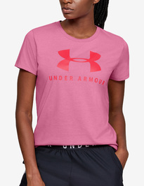 Tričko Under Armour GRAPHIC SPORTSTYLE CLASSIC CREW-PNK