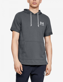 Mikina Under Armour Sportstyle Terry Ss Hoody-Gry