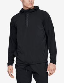 Mikina Under Armour Baseline Woven Jacket-Blk