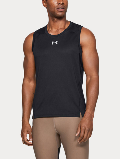 Tílko Under Armour QUALIFIER SINGLET-BLK