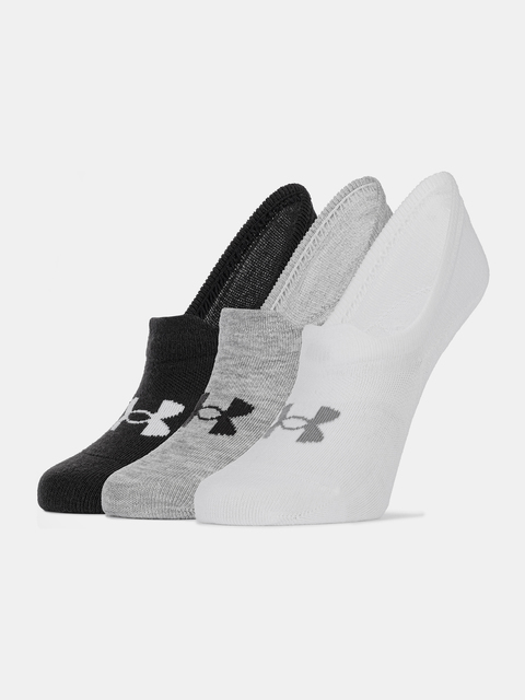 Ponožky Under Armour Ultra Lo-WHT