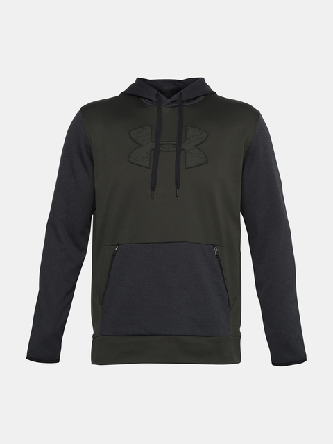 Mikina Under Armour AF Textured Big Logo HD-GRN