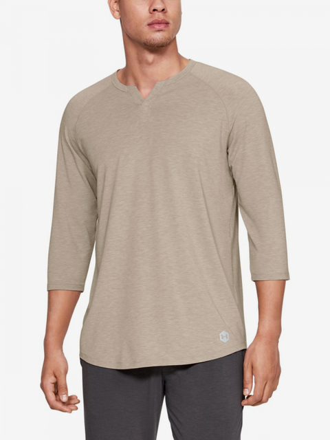 Pyžamo Under Armour Recovery Sleepwear Henley-Grn