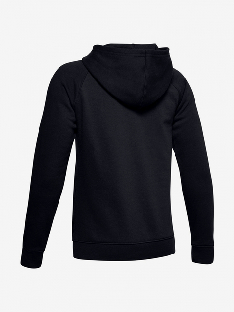 Mikina Under Armour Rival Logo Hoodie-Blk