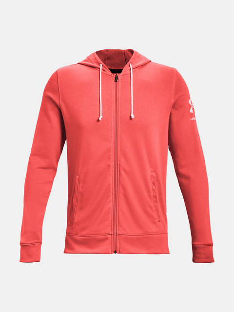 Mikina Under Armour UA RIVAL TERRY FZ HD-RED