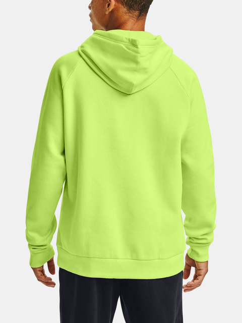 Mikina Under Armour Rival Fleece Big Logo HD-GRN