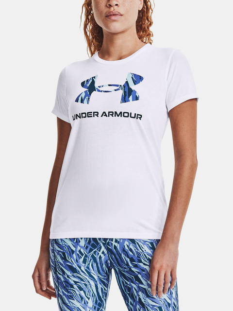 Tričko Under Armour Live Sportstyle Graphic SSC-WHT