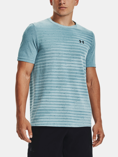 Tričko Under Armour UA Seamless Fade SS-BLU