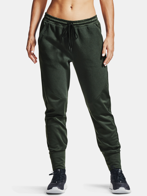 Tepláky Under Armour Recover Fleece Pants-GRN