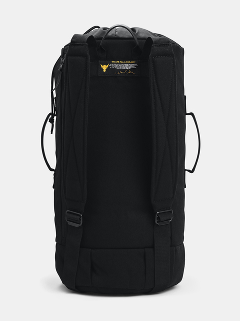 Taška Under Armour  Project Rock 60 Gym Bag-BLK