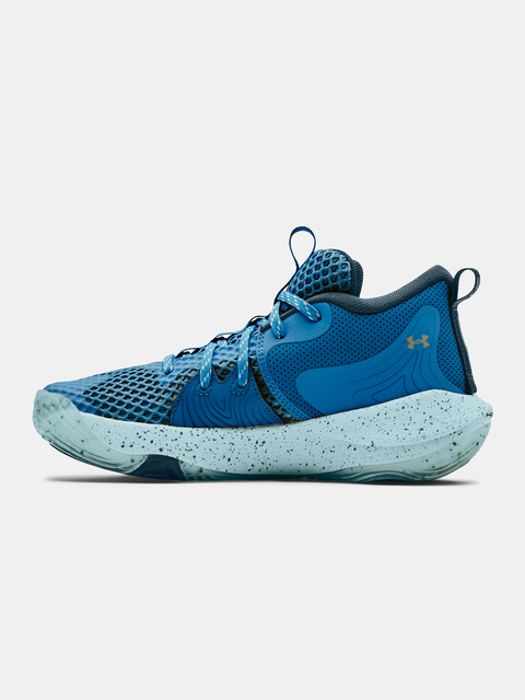 Boty Under Armour  GS Embiid 1-BLU