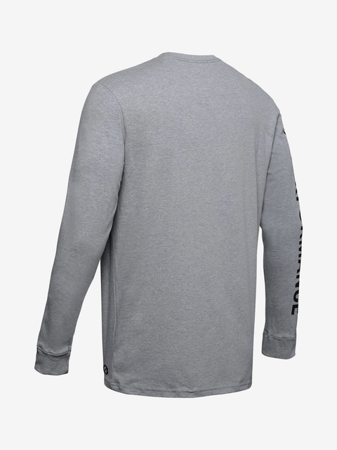 Tričko Under Armour ORIGINATORS OF PERFORMANCE LS-GRY