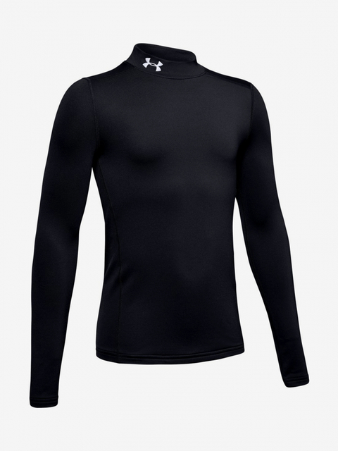 Tričko Under Armour Coldgear Mock-Blk