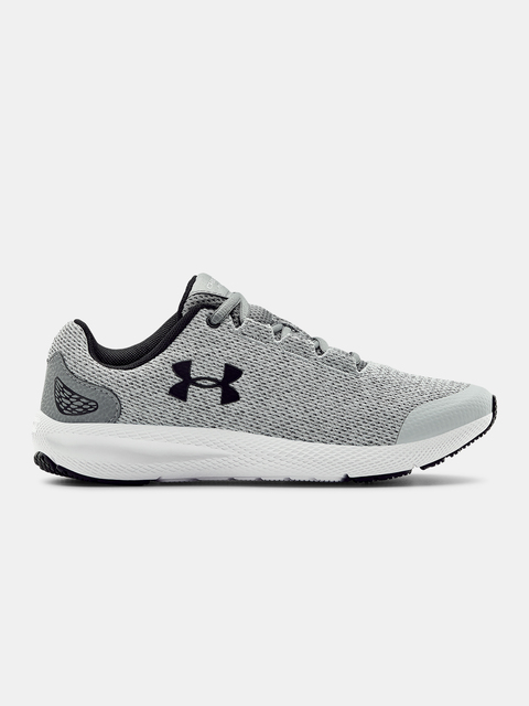 Boty Under Armour GGS Charged Pursuit2 Twst-GRY