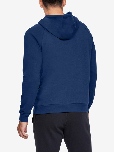 Mikina Under Armour RIVAL FLEECE PO HOODIE-BLU