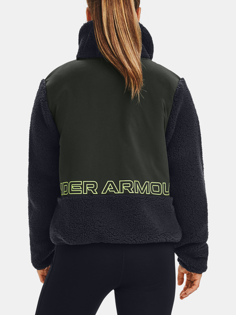 Bunda Under Armour UA LEGACY SHERPA SWACKET-BLK