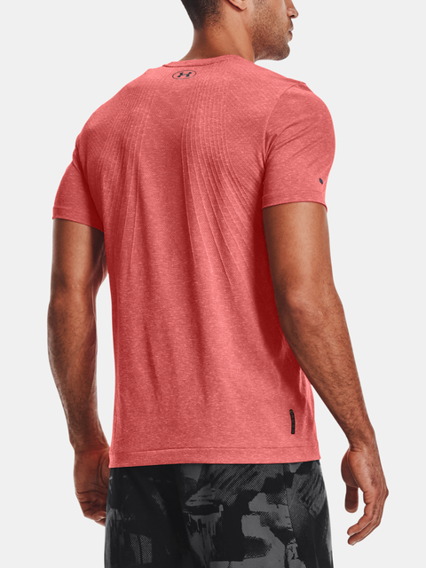 Tričko Under Armour Rush Seamless SS-RED