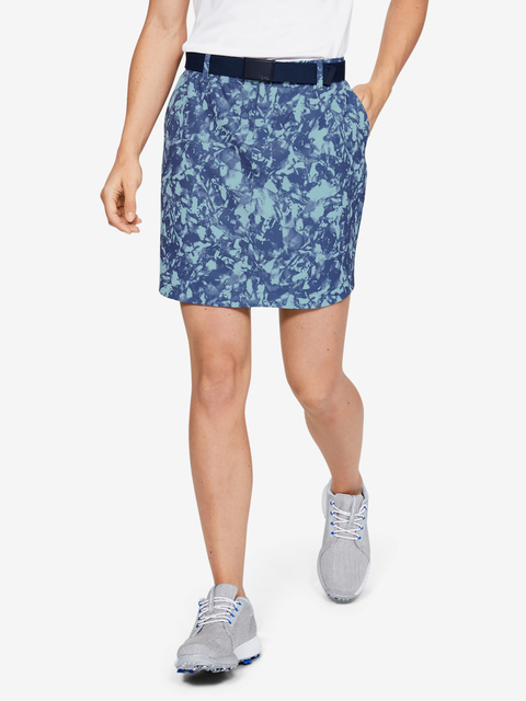 Sukně Under Armour UA Links Woven Printed Skort-BLU
