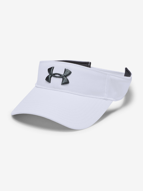 Kšiltovka Under Armour Men's Core Golf Visor-WHT