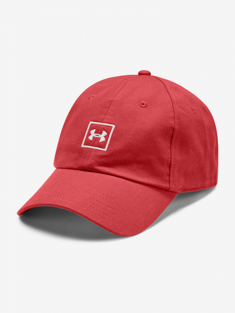 Kšiltovka Under Armour Washed Cotton Cap-Red