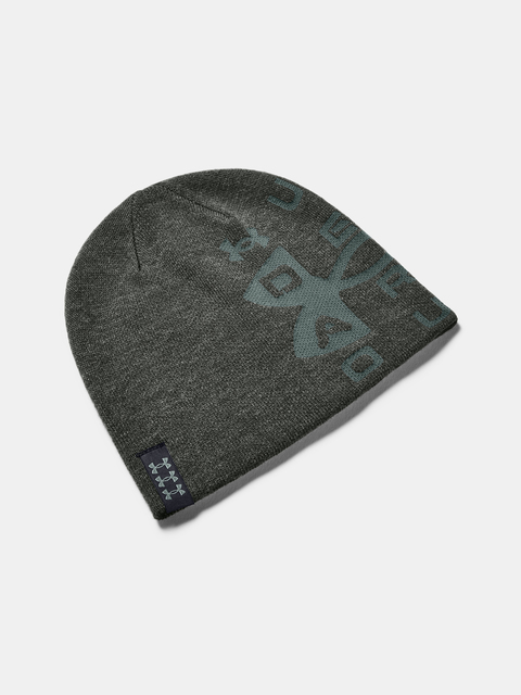 Čepice Under Armour Billboard Reversible Beanie-GRN