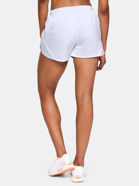 Kraťasy Under Armour W UA Fly By 2.0 Short-WHT
