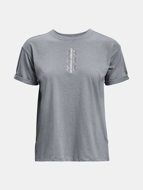 Tričko Under Armour Perf Tee 12.1-GRY