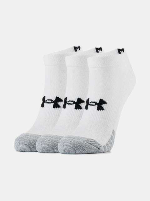 Ponožky Under Armour  Heatgear NS-WHT