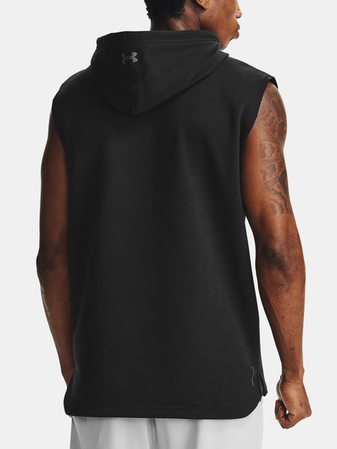 Mikina Under Armour PROJECT ROCK CC SL HOODIE-BLK