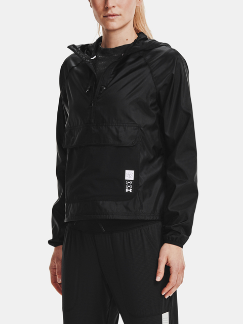 Bunda Under Armour Run Anywhere Anorak-BLK