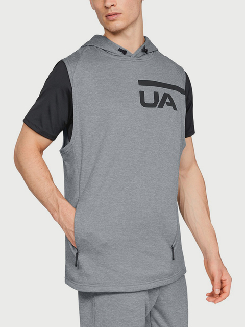 Mikina Under Armour MK1 Terry Sleeveless Hoodie