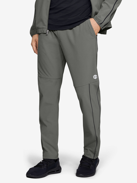 Tepláky Under Armour Athlete Recovery Woven Warm Up Bottom-GR