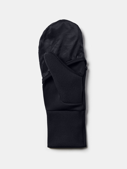 Rukavice Under Armour W Run Convertible Glove-Blk
