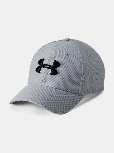 Kšiltovka Under Armour Men's Heathered Blitzing 3.0-GRY