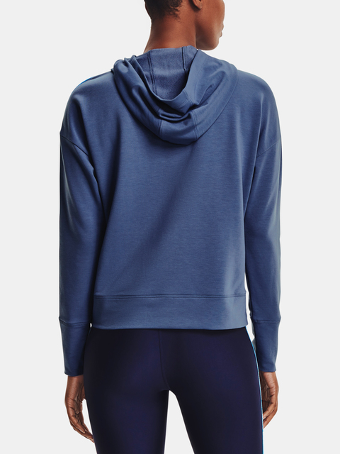 Mikina Under Armour UA Rival Terry Taped Hoodie-BLU