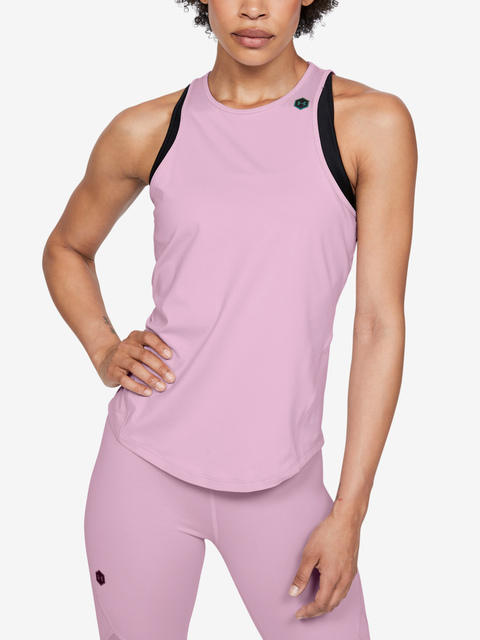 Tílko Under Armour Rush Tank-Pnk