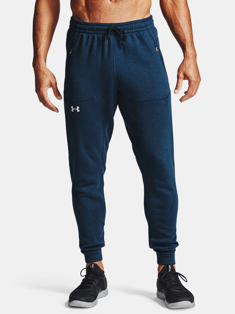 Tepláky Under Armour Charged Cotton FLC Jogger-NVY