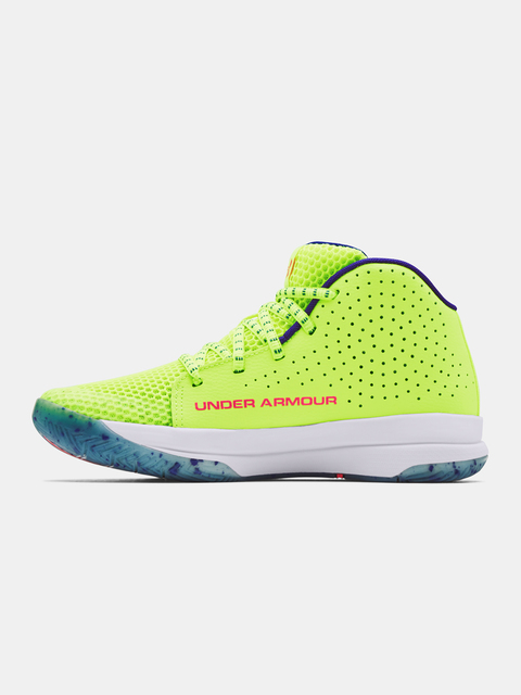 Boty Under Armour UA GS Jet Splash-YLW