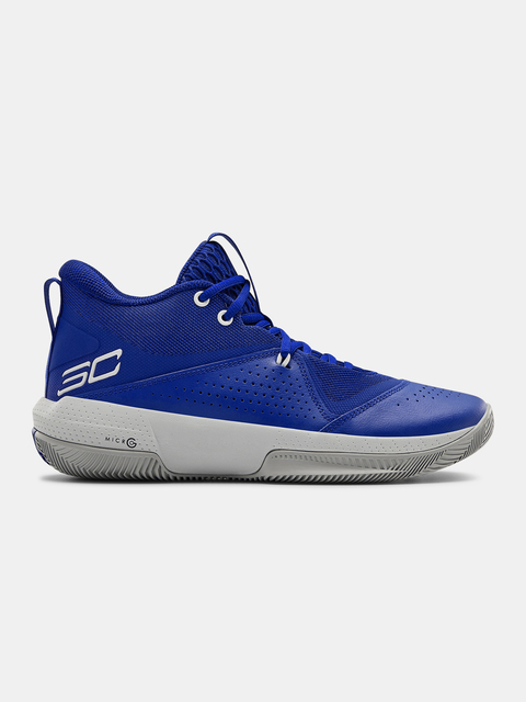 Boty Under Armour SC 3ZER0 IV-BLU