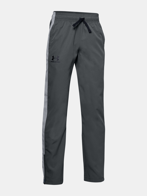 Tepláky Under Armour Woven Track Pants-GRY