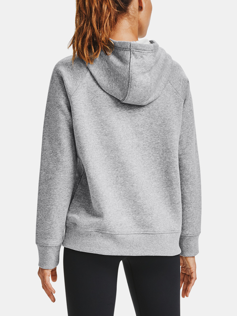 Mikina Under Armour Rival Fleece HB Hoodie-GRY