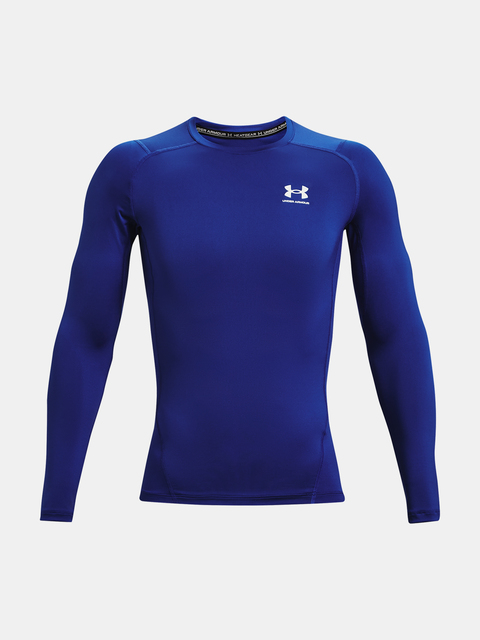Tričko Under Armour UA HG Armour Comp LS-BLU
