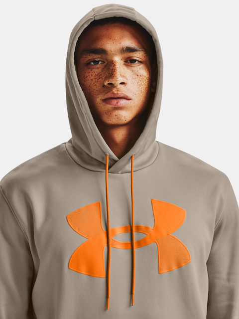 Mikina Under Armour Fleece Big Logo HD-BRN